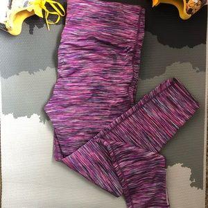 Prana Caraway Leggings Purple Pink  XL EUC
